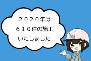 2020年施工件数